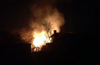 Pożar altany na Stogach