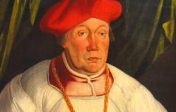 Sprowadził na Gdańsk klątwę, potem został biskupem