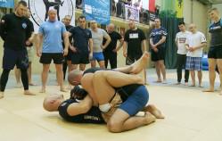 Mundurowi ćwiczyli judo i kick-boxing