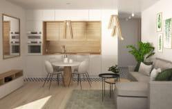 Jak wydzielić pokój w małym mieszkaniu