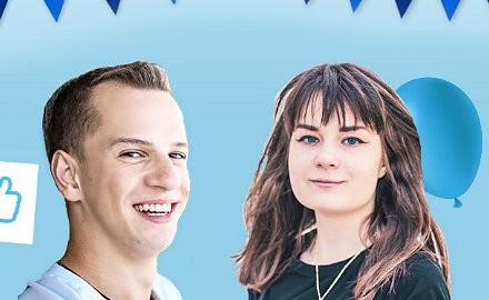 Karina i Paweł mają szansę na stypendium
