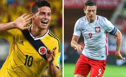 Polska-Kolumbia. Strefy kibica czekają