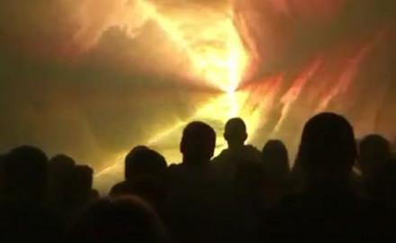 Wieczorem pokaz laserów na Jarmarku