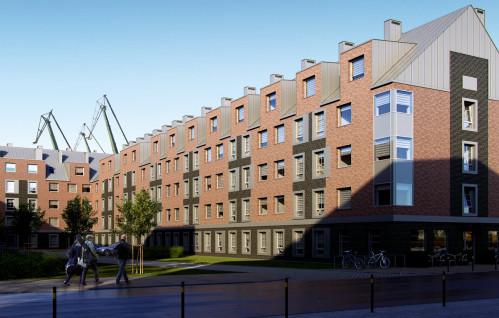 Nowy apartamentowiec na Młodym Mieście