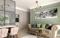 Dwa pomysły na strefę dzienną mieszkania