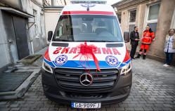 Pogotowie ma nowy ambulans