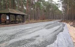 Droga przez las zaniepokoiła mieszkańców