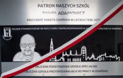 Paweł Adamowicz patronem szkół specjalnych na Przymorzu