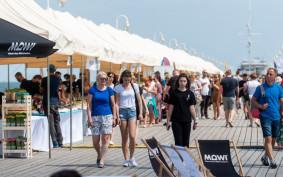 Trwa festiwal kulinarny na molo w Sopocie