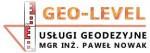 Geo-Level Usługi Geodezyjne mgr inż. Paweł Nowak