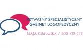 Prywatny Specjalistyczny Gabinet Logopedyczny Maja Ostrowska