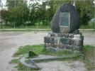 Obelisk poświęcony pamięci załogi jachtu Poświst