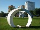 Rzeźba 'Arc of Freedom'