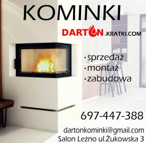 Kominki, zabudowa, montaż, sprzedaż - Darton