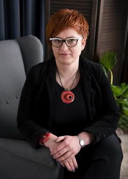 Iwona Krasowska psycholog, psychoterapeuta