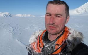 Polarnik z kabanosem chce pokonać Hardangervidde