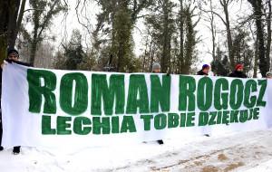 Zobacz ostatnią drogę Romana Rogocza