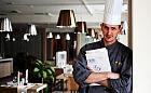 Zupa z żôłtëch wreków w restauracji Rzeka Smaków Hotelu Ibis