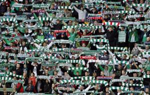 Biało-zielone ulice podczas meczów Lechii