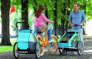 Rowerowe przyczepki dziecięce