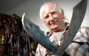 Zebrał kolekcję ponad 900 noży