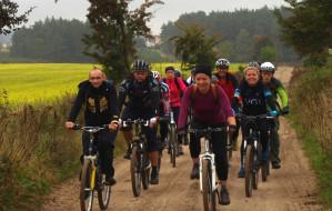 Szlak rowerowy Lębork - Gdańsk w jesiennych barwach