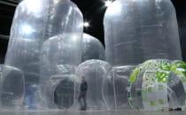 Atrakcje miasta ze śmieci w Amber Expo