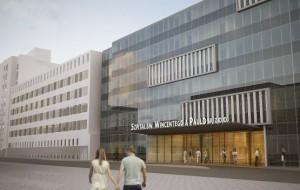 Gdyński szpital wstrzymuje rozbudowę