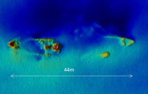 Kolejne wraki odkryte na dnie Bałtyku