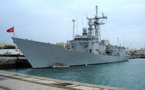 Okręt tureckiej Marynarki Wojennej...
