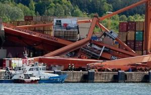 Kapitan promu Stena Spirit oskarżony za wypadek sprzed dwóch lat