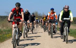Szlak rowerowy do nadmorskiej plaży