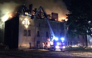 Po pożarze. Hossa deklaruje, że mimo zniszczeń będzie rewitalizować budynek