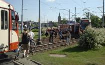 Zderzenie tramwajów przed...