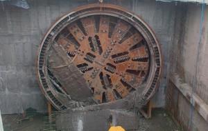 Kret się przebił, drugi tunel pod Martwą Wisłą już wydrążony