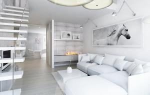 Białe wnętrza - elegancja czy utopia?