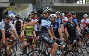 Znany kolarz trenował z amatorami w Gdyni