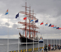 Wielkie żaglowce są już w Gdyni