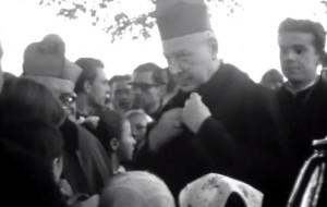 Film sprzed pół wieku z prymasem Wyszyńskim w Gdańsku