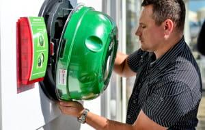 Urządzenie przy molo pomoże uratować życie