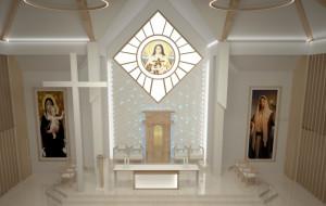 Wnętrze kościoła to wyzwanie dla architekta