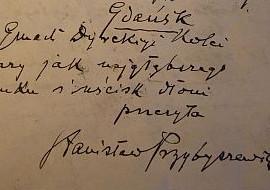 Wyjątkowy list trafił do gdańskiej biblioteki