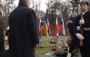 Protest na cmentarzu Żołnierzy Radzieckich