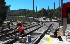 Budowa trasy tramwajowej z Siedlec na Morenę na finiszu