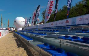Plażowy stadion działa już w Brzeźnie