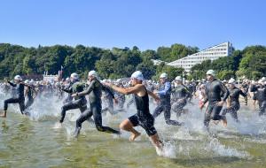Gdyński triathlon gości europejską elitę
