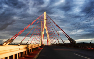 Jest szansa na budowę chodnika i ścieżki rowerowej na moście wantowym