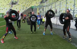 Pokonali ponad tysiąc schodów na Stadionie w Letnicy