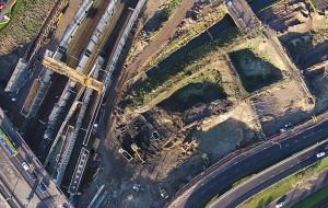 Pół roku budowy Forum Gdańsk