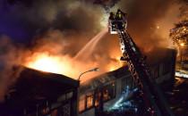 8 godz. gaszenia pożaru przy Abrahama